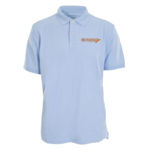 PSTAP Blue Ebroidered Polo Shirt